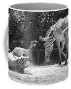 The Back End In Black And White Coffee Mug