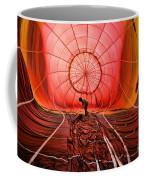 The Balloonist - Inside A Hot Air Balloon Coffee Mug