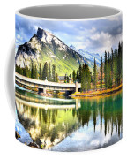 The Banff Bridge Coffee Mug