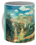 The Banks Of The Seine At Argenteuil Coffee Mug