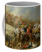 The Battle Between The Amazons And The Greeks Coffee Mug