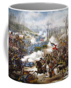 The Battle Of Pea Ridge, Coffee Mug