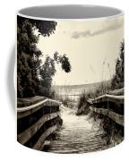 The Beach Path - Clearwater Beach Coffee Mug