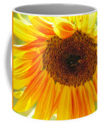 The Beauty Of A Sunflower Coffee Mug