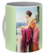 The Belvedere Coffee Mug by John William Godward