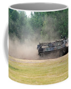 The Bergepanzer Used By The Belgian Army Coffee Mug by Luc De Jaeger