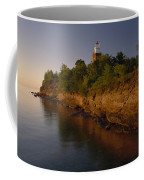 The Big Bay Point Lighthouse, Now A Bed Coffee Mug