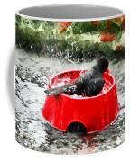 The Birdbath  Coffee Mug
