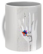 The Black Hand In Negative Coffee Mug