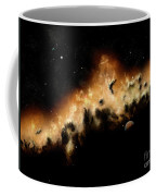 The Blast Wave Of A Nova Pulls Away Coffee Mug