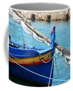 The Blue Boat Coffee Mug