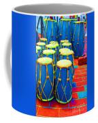 The Blue Drums Coffee Mug