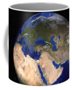 The Blue Marble Next Generation Earth Coffee Mug by Stocktrek Images
