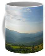 The Blue Ridge Mountains In July 01 Coffee Mug