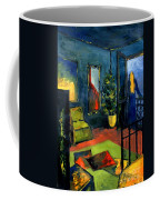 The Blue Room Coffee Mug by Mona Edulesco