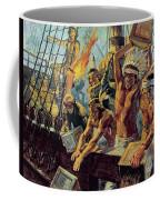 The Boston Tea Party Coffee Mug by Luis Arcas Brauner