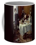 The Breakfast Coffee Mug by Claude Monet