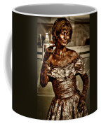 The Bronze Lady In Pike Place Market Coffee Mug