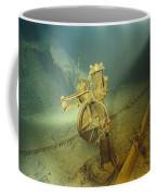 The Bronze Telemotor On The Bridge Coffee Mug by Emory Kristof