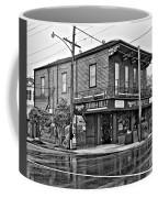 The Buddha Belly Monochrome Coffee Mug by Steve Harrington