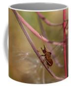 The Bug With Fireweed Seeds Coffee Mug