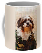 The Camo Makes The Dog Coffee Mug