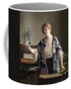 The Canary Coffee Mug by William McGregor Paxton