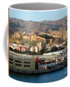The Castle In Almeria Spain Coffee Mug