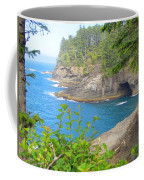 The Caves Of Cape Flattery  Coffee Mug