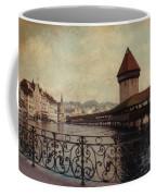 The Chapel Bridge In Lucerne Switzerland Coffee Mug by Susanne Van Hulst