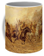 The Charge Of The Bengal Lancers At Neuve Chapelle Coffee Mug