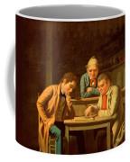 The Checker Players Coffee Mug