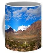 The Chisos Mountains Big Bend Texas Coffee Mug