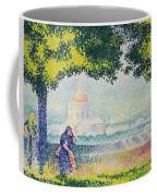 The Church Of Santa Maria Degli Angeli Coffee Mug by Henri-Edmond Cross