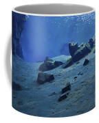 The Clear Water Of The Lagoon At Silfra Coffee Mug
