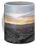The Colors Of The Sky Over San Jose At Sunset Coffee Mug by Ashish Agarwal