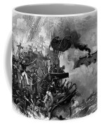 The Confederate Ironclad Merrimack Coffee Mug