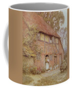 The Cottage With Beehives Coffee Mug