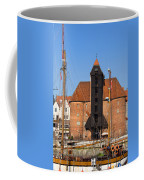 The Crane In Gdansk Coffee Mug