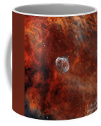 The Crescent Nebula With Soap-bubble Coffee Mug by Rolf Geissinger