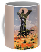 The Crucifixion Of A Messianic Martyr Coffee Mug by Mark Stevenson