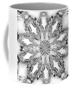 The Crystal Snow Flake Coffee Mug