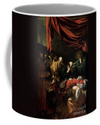 The Death Of The Virgin Coffee Mug by Caravaggio
