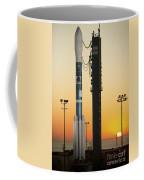 The Delta II Rocket On Its Launch Pad Coffee Mug