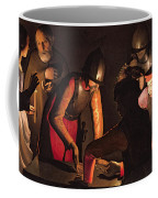The Denial Of Saint Peter Coffee Mug