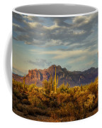 The Desert Golden Hour  Coffee Mug