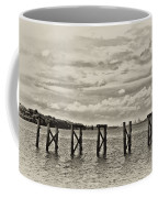 The Disappearing Pier Coffee Mug