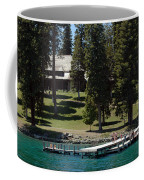 The Dock At Sugar Pine Point State Park Coffee Mug