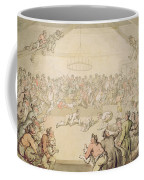The Dog Fight Coffee Mug by Thomas Rowlandson