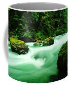 The Dosewallups River  Coffee Mug